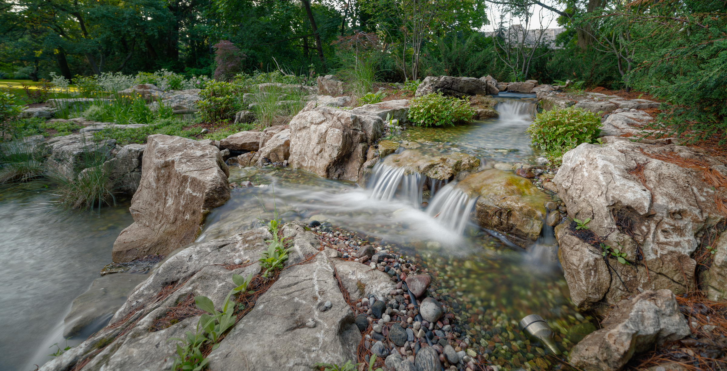 Landscape ontario award of excellence winner for water for Landscape design ontario