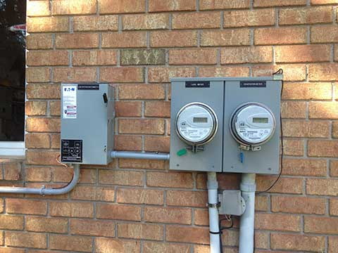 Grid-tied hydro meter for Micro-FIT